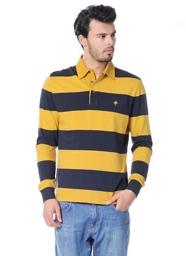 North Of Navy Sweatshirt Sarı